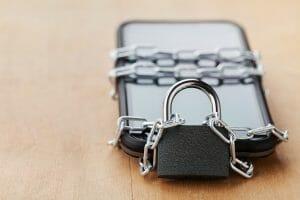 digital detox phone locked up