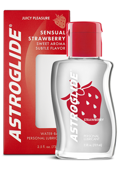 ASTROGLIDE Strawberry Liquid