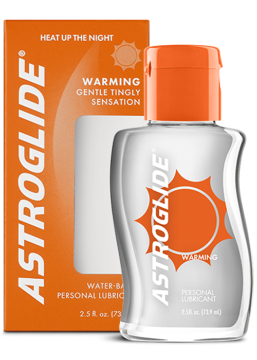ASTROGLIDE Warming Liquid