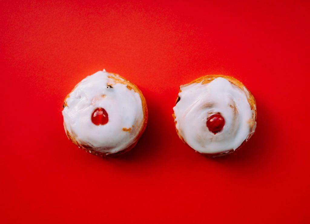 nipple-like cupcakes